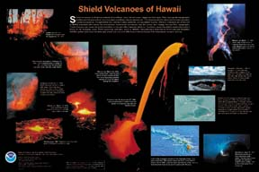 Image of Shield Volcanoes Poster